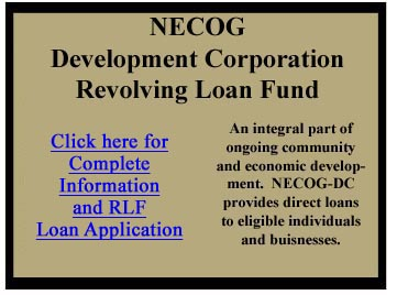 Revolving loan fund info and RLF application