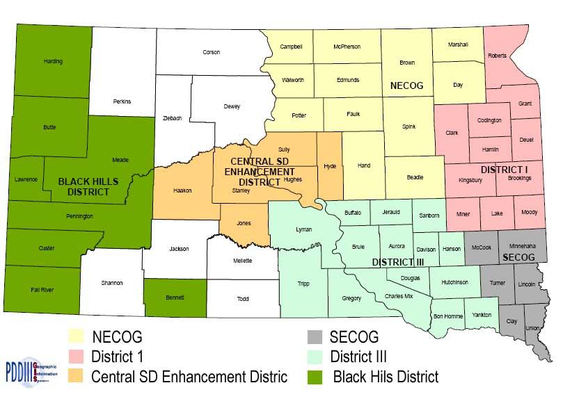 NECOG Service Area